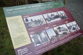 New Interpretive Signs At Fort Langley Cn Station Langley