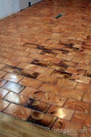 Perfect B. Organic Wood Cobblestone Floor, Cheap And Beautiful | For The Home |  Flooring, Wood Tile Floors, Diy Flooring