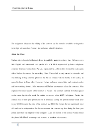 business law assignment essay