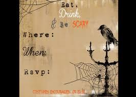 Halloween Invitation Template Scary Halloween Invitations Printable Free Secrets Of A Modern 24