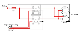 wiring off road lights relay help tacoma world yeah it was kinda confusing i just found this diagram 2 relays and if i wire it to the switch this should work at least if i m reading it right