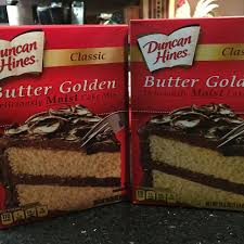 Find More 2 Boxes Duncan Hines Butter Golden Cake Mix For Sale At Up
