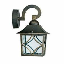 seville ip44 outdoor garden outside wall light lantern for