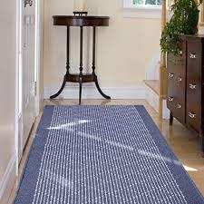 casa pura boulevard modern striped flat weave hall kitchen runner rug 67x400cm non
