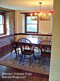 last year brandon oriental rugs helped new homeowners in quakertown pa find a rug to complete the farmhouse kitchen of their two hundred year old estate
