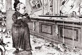 「anti-alcohol crusader Carrie Nation」の画像検索結果