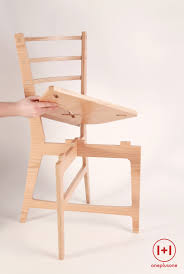 One plus One chair, assembly under 60 seconds no screws no glue ...