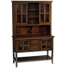 Ronan Tobacco Brown Hutch & Small Buffet