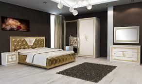 Elegantes Schlafzimmer Schönes Schlafzimmer