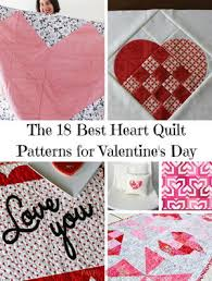 Hearts afloat quilt, free pattern by bev getschel for quiltmaker (click for pdf download). Valentines Favequilts Com