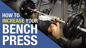 Bench Press Workout 2nd Chest Workout Of The Week Increase Bench Press Routine