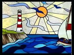 stained glass pattern stained glass table top patterns light house stained glass patterns free patterns stained