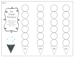 Kindergarten Pattern Worksheets Number Patterns Grade Addition ...