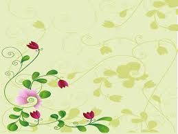 Ppt Flowers Flower And Shadow Backgrounds Flowers Templates Free Ppt Grounds