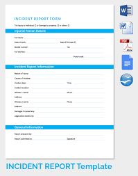 Accident Report Template Word 100 Images of AZ Incident Report Template infovianet 81