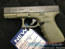 glock 19 w od frame black slide gen 4