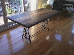 reclaimed wood table top dining table kitchen table free reclaimed wood dining table