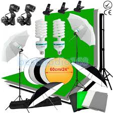 studio photo white black green screen backdrop light stand umbrella lighting kit 1 of 12only 5 available
