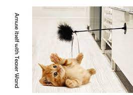 funny cat toys elastic toys spring