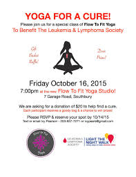 YOGA FOR A CURE! | Newtown, CT Patch