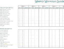 Workout Plan Sheet Workout Log Template Unique Gym Workout Plan Spreadsheet
