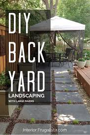 outdoor living space with stone pavers