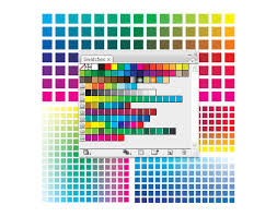 Adobe Cmyk Color Chart How To Create A Wide Range Of Custom Color Swatches In