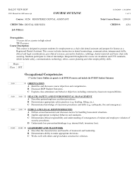 Sample Occupational Competencies And Orientation Dental Assistant