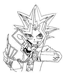 Unconditional Yu Gi Oh Coloring Pages To Print Gif 850 984 Pixel