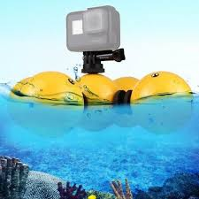 water floaty holder buoyancy ball for gopro hero 7 6 5 4 xiaomi yi 4k sjcam go pro session mijia action sport camera accessories