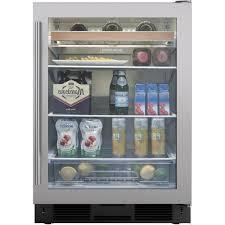 Under Counter Beverage Centers 24 Undercounter Beverage Center Stainless Door Uc 24bg S