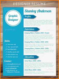 5 Design Curriculum Vitae Template Grittrader