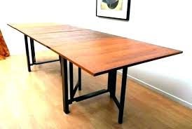 expanding circular table wooden plans dining round diy