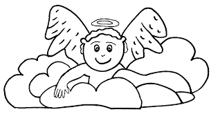 Small Picture Angel Coloring Pages For Preschool Miakenasnet