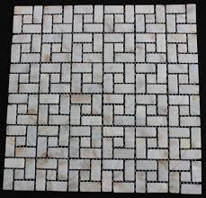mother of pearl backsplash tile random