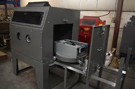 Abrasive Blasting Cabinet Custom Built Blasting Cabinets Ace Automotive Cleaning Equipment