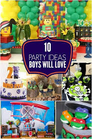 10 party ideas boys will love from spaceships and laser beams