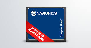 Navionics Chart Cards Compact Flash Cards Discontinued