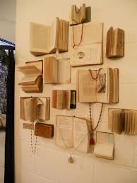 What's the best way to keep the books on the walls, or not have them flop  around too much?