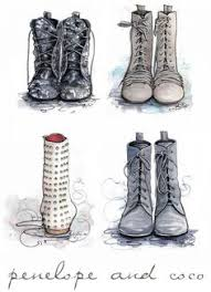 fashion boots drawing. fashion illustration \ boots drawing i