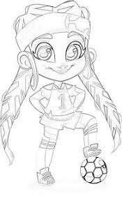 Hairdorables Dolls Coloring Pages Coloringfilminspectorcom
