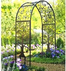 metal garden arches northern ireland arch trellis home depot