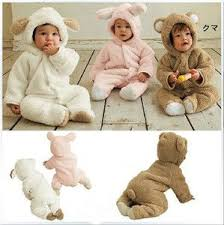 Boy Girl <b>Baby Clothes</b> Winter <b>Animal Onesie</b> Fleece Jacket Coat ...