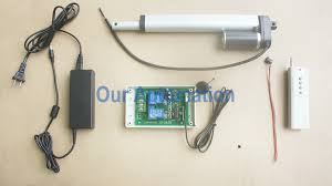 linear actuator our automation wiring is simple you should wire linear actuator to output terminal of receiver