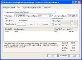 Janitorial Bidding Software Automate And Maximize Profit