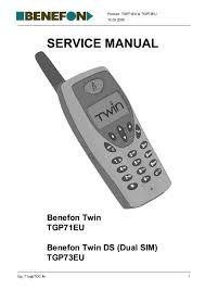 Manual - Benefon Twin DS TGP73EU ...