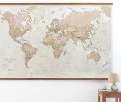 world wall maps