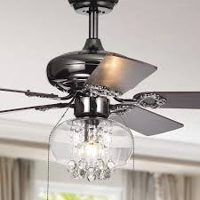 Warehouse Of Tiffany 52 Laure Crystal 6 Light Ceiling Fan Warehouse Of Tiffany Cfl 8286pbx Zareen 1 Light Glass And