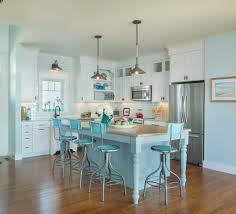 Soft Kitchen Flooring Turquoise Bar Stools Kitchen Beach With Bamboo Wood Flooring Barn