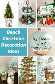 Christmas Decoration Design Beach Christmas Decorations Ideas Inspired by Sea Sand Shells 98